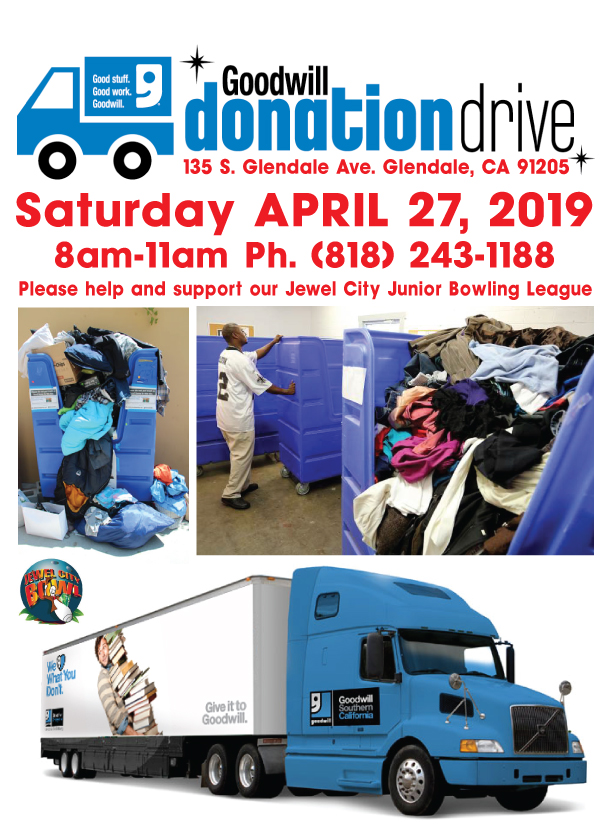 2019 Goodwill Donation Drive Flyer
